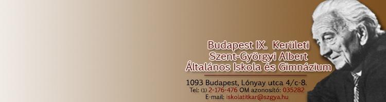 Szent-Györgyi Albert Általános Iskola és Gimnázium